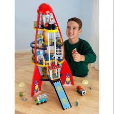 kidkraft fun explorers rocket ship play set 63213 shoptv