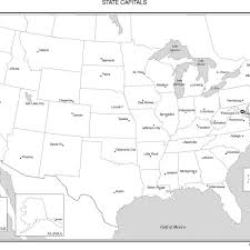 blank united states map with states and capitals blank us states and capitals map printable us capitals map quiz