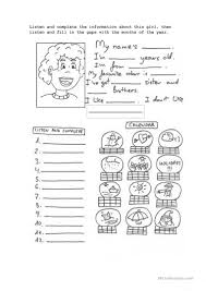 Personal And Possessive Pronouns Worksheet 5 Free Esl Basic Personal Information Worksheets