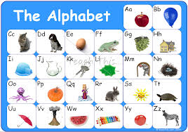 printable alphabet grid printable alphabet chart with pictures 1286328078alphabet chart