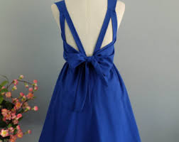 royal blue dress etsy