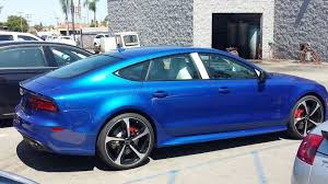 blue audi s7 2016 sepang blue rs7 with audi exclusive interior just arrived