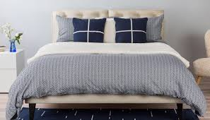 Full Size Duvet Covers Herringbone Navy Grey King Duvet Cover