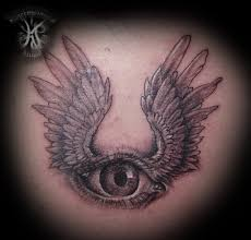 traditional pyramid eye tattoo on wrist photos pictures and