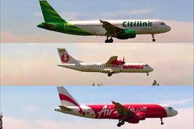 airasia vs citilink landing and take off at jogjakarta international airport jog