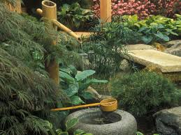 japanese garden wash basin water feature and pond design