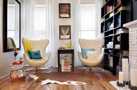 design small reading space interior among contemporary chair