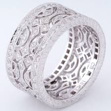 diamonds rings design images 18ct white gold wide cross design diamond ring rings diamond jpg