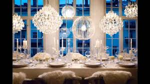 luxury new years eve party decorations for dining room with many
