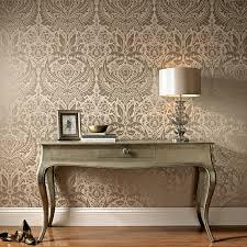 graham u0026 brown desire wallpaper taupe u0026 metallic taupe graham