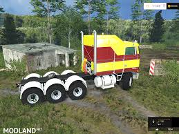 new kenworth cabover kenworth k100 cabover mod for farming simulator 2015 15 fs ls