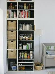 placard provision cuisine closet inspiration use ikea s billy bookcase to mimic custom