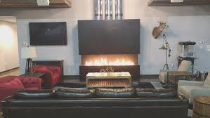 fireplace simple long gas fireplace decorating ideas
