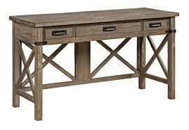 Desk With Outlets by Rustic Weathered Gray Desk With Keyboard Drawer And Electrical