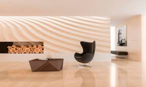 indoor tile wall limestone 3d texture wave of sand