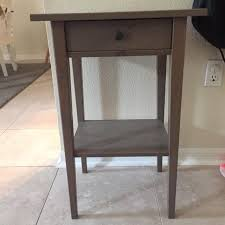 Ikea Hemnes Desk Grey Brown Find More Ikea Hemnes Night Stand Grey Brown For Sale At Up To 90