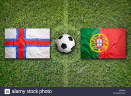 Portugal Football Flag Portuguese Flag On Football Stock Photos U0026 Portuguese Flag On