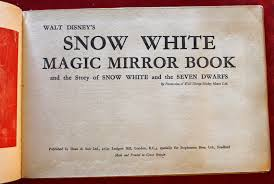 filmic light snow white archive snow white magic mirror book