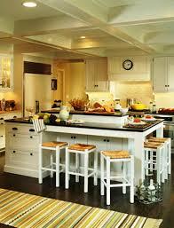wonderful image of kitchen decoration using backless square white