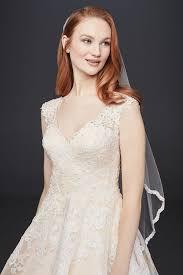 arriving wg3850 style a line lace appliqued v neck wedding dress