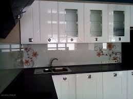 Glass Backsplashes For Kitchens Tempered Glass Kitchen Backsplash Home