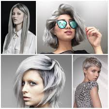 trendy gray hair styles 2016 2017 trendy grey hair colors and hairstyles best hair color