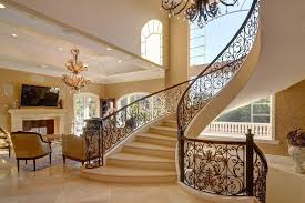 Tuscan Interior Design Tuscan Interior Design Staircase Mediterranean With Architectural