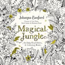 magical jungle an inky expedition u0026 coloring book for adults