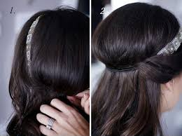 chignon mariage facile a faire chignon avec headband à faire soi même j ai dit oui