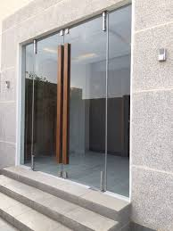 oak bifold doors with glass glass door with wooden handle architecture pinterest glass