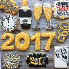 New Year Decorated Cookies by New Year Cookies Kookie Kreations By Kim New Year U0027s Cookies