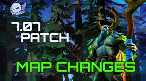 Coffeescript Map Dota 2 Map Changes 7 07 Dueling Fates Patch Youtube