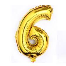 balloon decorations mylar number letter gold 40 6 six mylar number letter balloons birthday big
