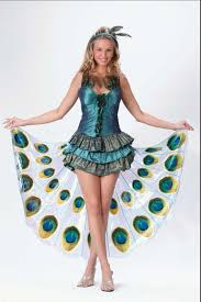 Peacock Halloween Costume Girls Peacock Costume Girls