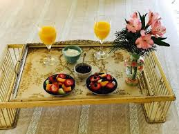 breakfast in bed tray is always an option at wedgewood inn new