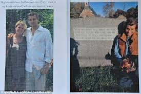 Beautiful Funeral Programs Annie Lennox At Her Daughter U0027s Boyfriend U0027s Funeral After He