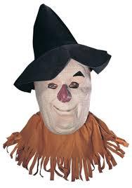 scarecrow halloween mask wizard of oz scarecrow costumes halloweencostumes com