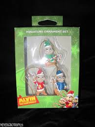 alvin the chipmunks mini ornaments alvin simon