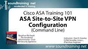 cisco asa site to site vpn configuration command line cisco asa