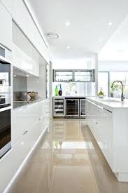 white contemporary kitchen cabinets gloss modern white kitchen