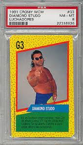 diamond studd 1991 cromy wcw diamond studd razor ramon rookie rc
