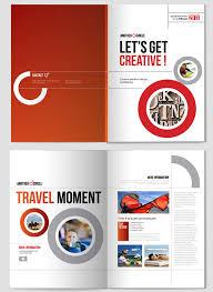 cool brochure templates creative indesign brochure design template