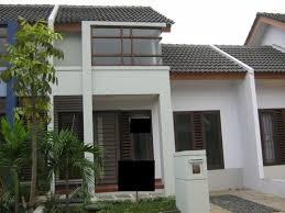desain rumah lebar 6 meter tampak depan rumah 6 meter gambar rumah idaman com