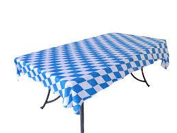 oktoberfest bavarian blue tablecloth roll 40 x 100