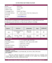 Resume For It Professional Resumes Examples For Freshers Fresher Electrical Engineer Resume