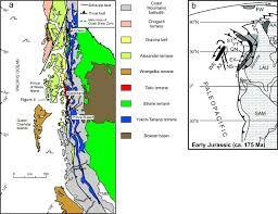 Map Of Southeast Alaska by Bokan Mountain Peralkaline Granitic Complex Alexander Terrane