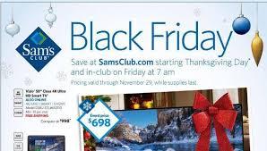 best sam s club black friday 2015 tv deals and schedule