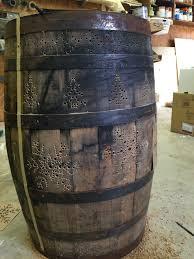 wine barrel porch light for sale light up whiskey barrel wilker do s