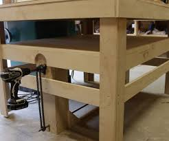 drill powered adjustable height work bench cnc machine cnc and