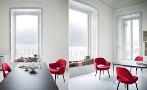 Saarinen Arm Chair Design Ideas Saarinen Executive Arm Chair With Wood Legs Hivemodern Com